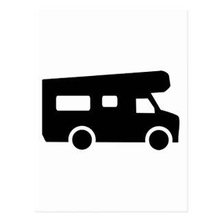 Caravana - Motorhome Tarjeta Postal