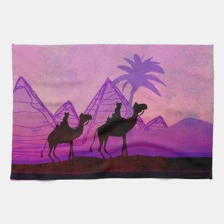 Caravana TeaTowels del camello Toalla