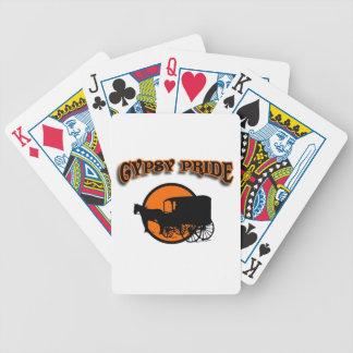 Caravana tradicional del orgullo gitano baraja cartas de poker