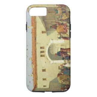 Caravanserai at Mylasa, Turkey, 1845 (oil on panel iPhone 8/7 Case