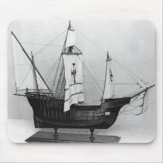 Caravel of Christopher Columbus Mouse Pad