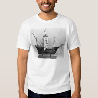 Caravel of Christopher Columbus T-shirts