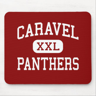Caravel - Panthers - Middle School - Carmel Maine Mouse Pads
