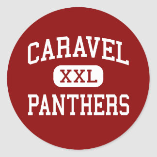 Caravel - Panthers - Middle School - Carmel Maine Sticker