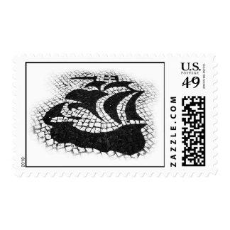 Caravel portugués sello