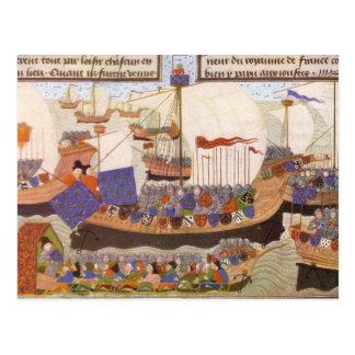 Caravelle of the Duke of Bourbon Postcard