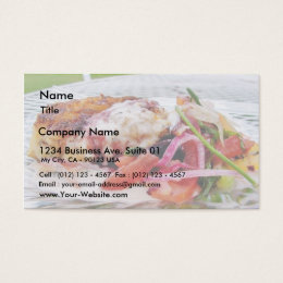Carb Cakes Business Card