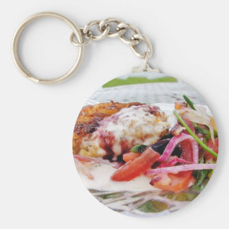 Carb Cakes Keychain