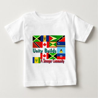 Carbbean-canada unity baby T-Shirt