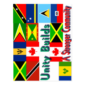 Carbbean-canada unity postcard