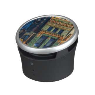 Carbide and Carbon Building Bluetooth Speaker