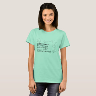 Carbohydrates: The Path to Happiness Ladies' T T-Shirt