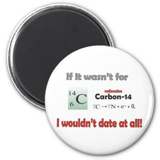Carbon 14 Dating Refrigerator Magnets
