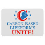 Carbon-based Lifeforms, Unite! Rectangle Magnet