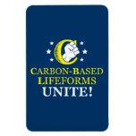 Carbon-based Lifeforms, Unite! Rectangular Magnet