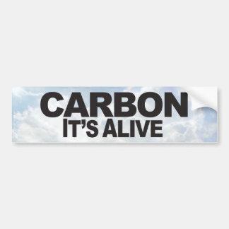 Carbon - Bumper Sticker