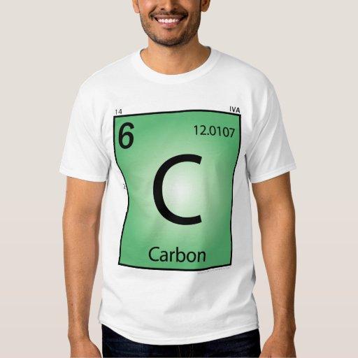 Carbon (C) Element T-Shirt - Front Only