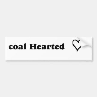 carbón etiqueta de parachoque