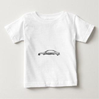 Carbon Car M3 3D Fashion Accessory Transparent Baby T-Shirt