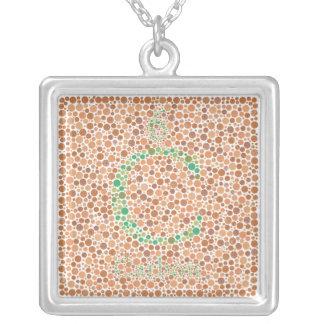 Carbon Color Blind Test Necklace