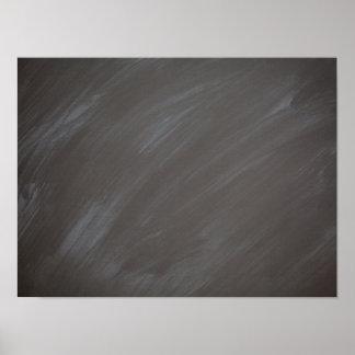 Carbón de leña retro del fondo de la pizarra de la póster