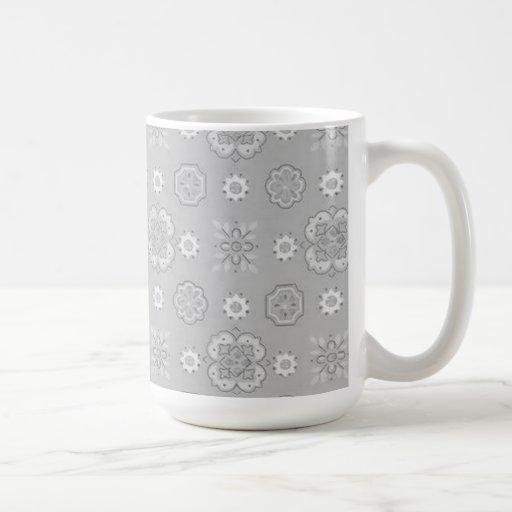 Carbón de leña retro tazas de café