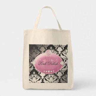 Carbón de leña rosado de 311 Delish Bolsa Tela Para La Compra