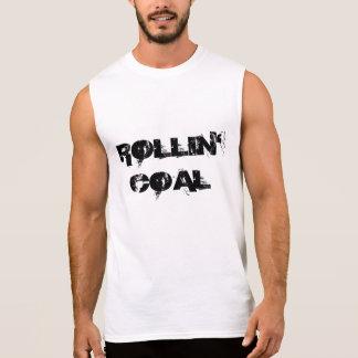 Carbón de Rollin Camisetas Sin Mangas