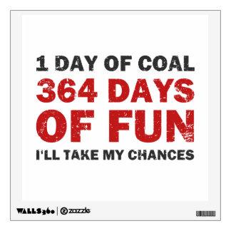 Carbón del navidad CONTRA 364 días de diversión