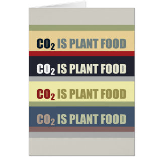 Carbon Dioxide Is Plant Food Card