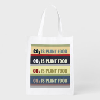 Carbon Dioxide Is Plant Food Grocery Bags