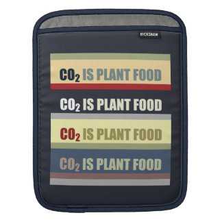 Carbon Dioxide Is Plant Food Sleeves For iPads