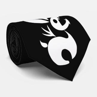 Carbón el conejo de la sombra corbatas