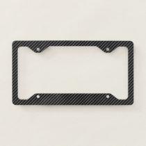 Carbon Fiber 1&2 Options License Plate Frames