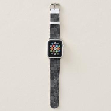 Beach Themed Carbon Fiber 1-2A Watch Bands Apple Watch Bands