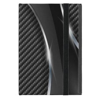 Carbon Fiber 3 Powiscase Cover For iPad Mini