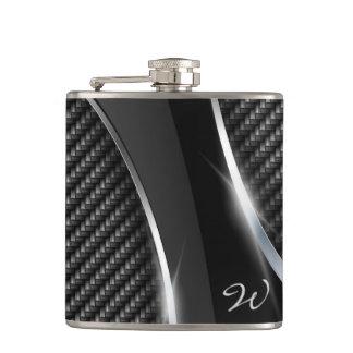Carbon Fiber 3A Wrapped Flask
