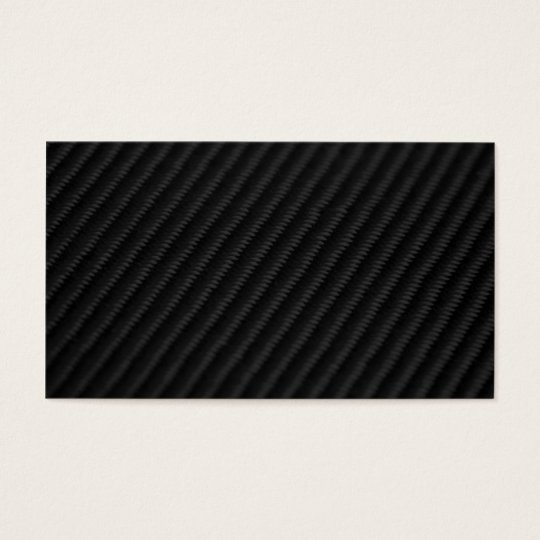 Carbon Fiber Accented Business Card