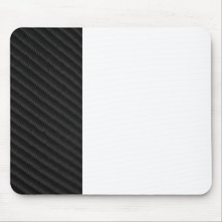 Carbon Fiber Accented Mouse Pad