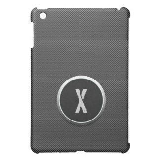 Carbon Fiber and monogram for iPad Mini iPad Mini Cover