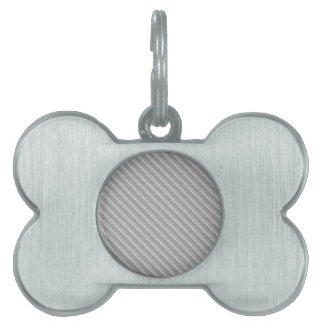 Carbon Fiber Any color Pet Name Tags