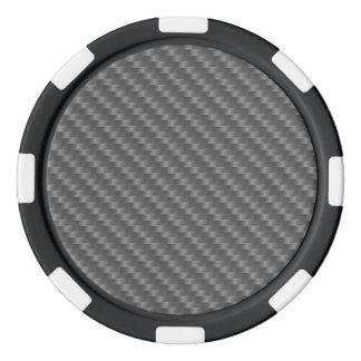 Carbon Fiber Any color Poker Chips Set