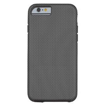 Beach Themed Carbon Fiber Base Tough iPhone 6 Case