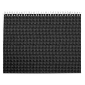 Carbon fiber calendar