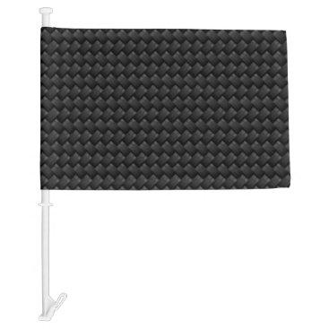 USA Themed Carbon fiber car flag