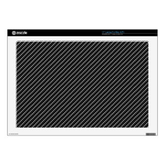 "Carbon fiber design look decal for 17"" laptop"