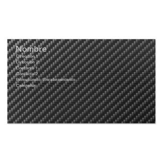 CARBON FIBER Double-Sided STANDARD BUSINESS CARDS (Pack OF 100)