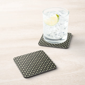 Carbon Fiber (Faux) Beverage Coaster