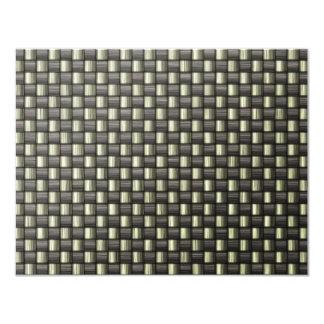 Carbon Fiber (Faux) Card