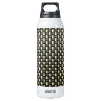 Carbon Fiber (Faux) SIGG Thermo 0.5L Insulated Bottle